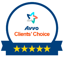 Avvo Clients Choice Badge